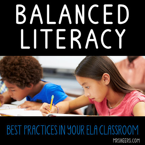 Using Balanced Literacy In The Ela Classroom Teaching Stuff