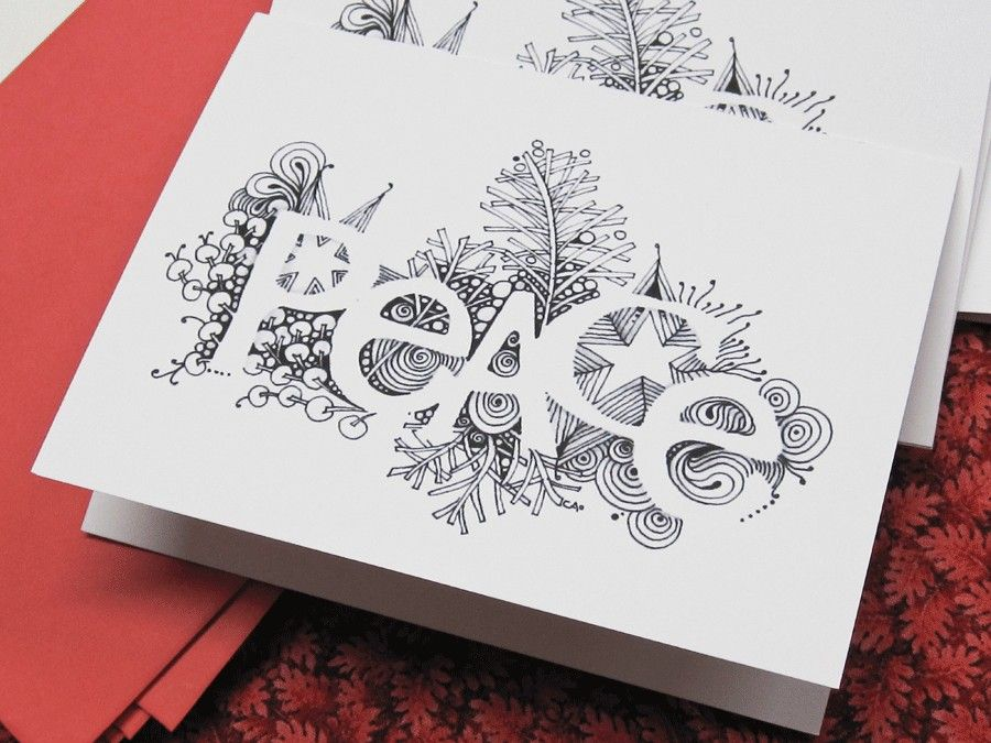 Peace greeting cards 1000 via etsy doodles pinterest peace greeting card inspiration pic could come up with your own design scan and produce multiples for your occasion m4hsunfo