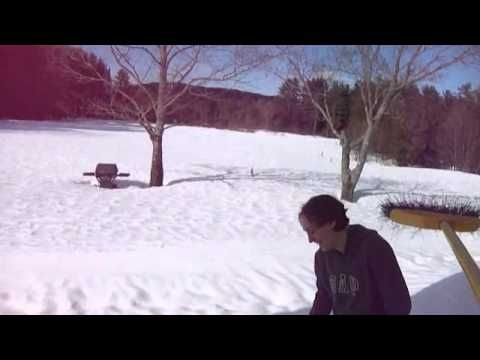 Fun Karate Ice Block       Country fun with icicles and blocks if ice in a redneck country fun way of life.