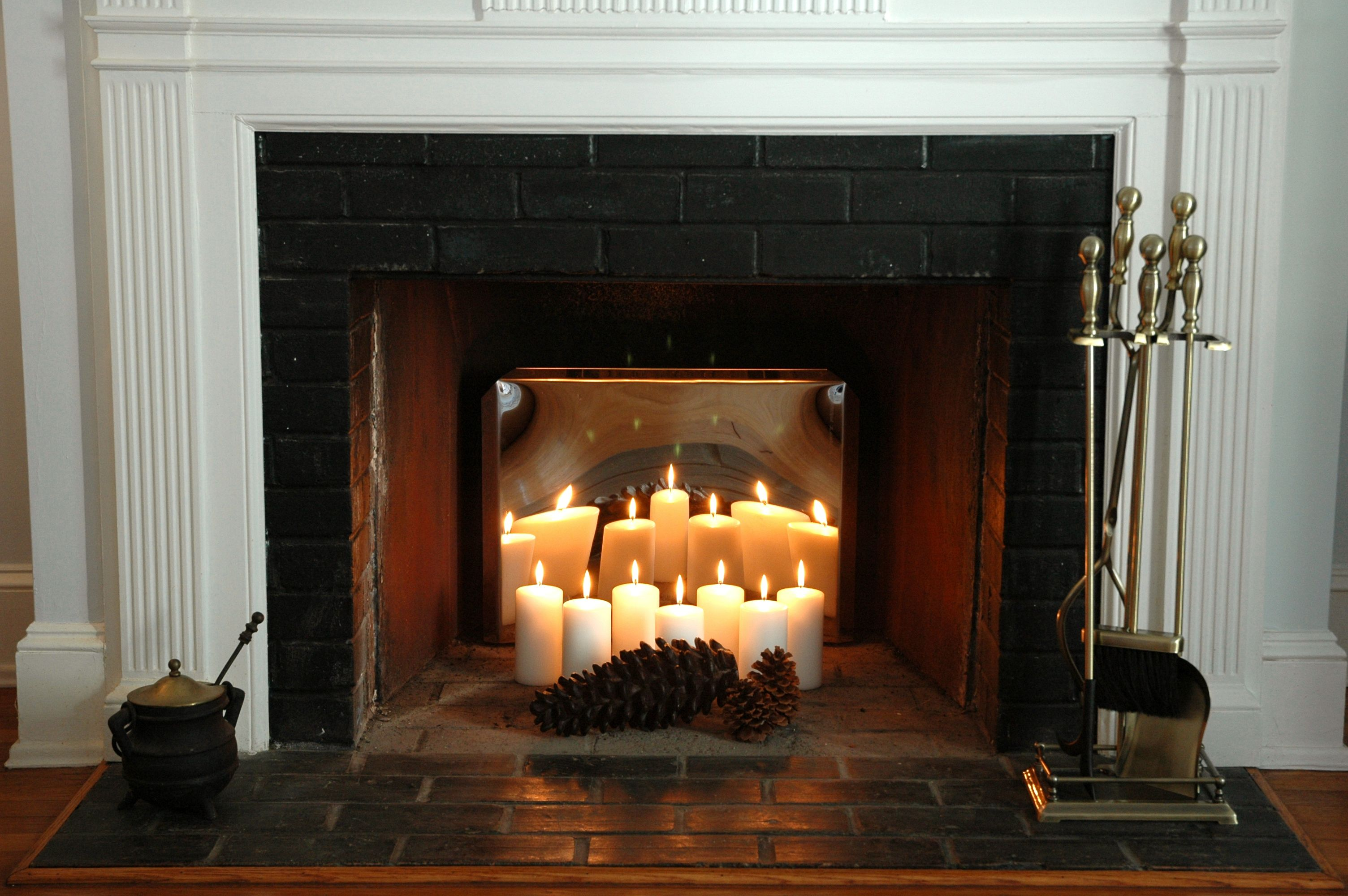 Candles For Fireplace Insert Fireplace Candle Holder For Inside Summer Decorating Ideas For