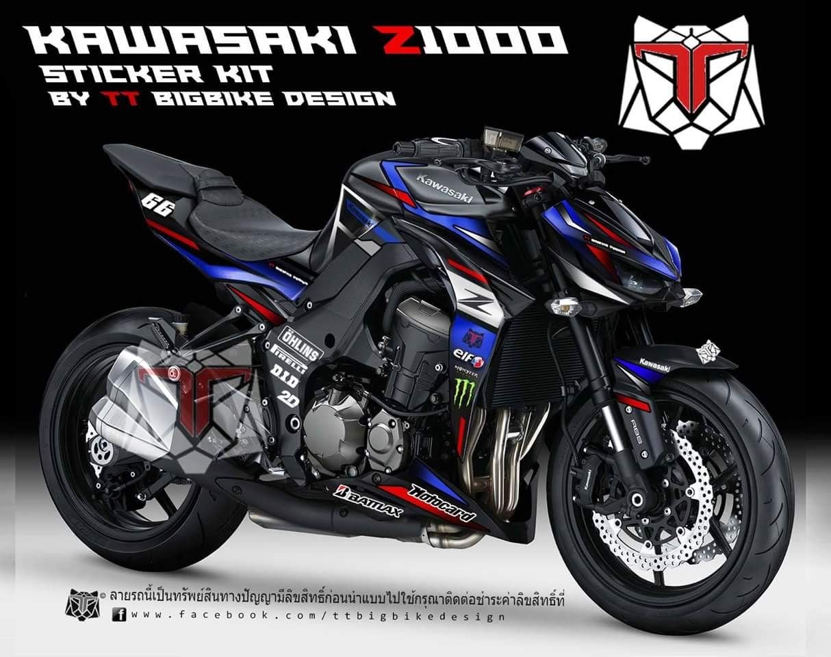 Z1000 sticker kit graphic kit bike stickers honda motorcycles cars and motorcycles ducati