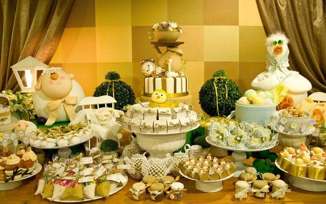 40 ideias de decoração para o chá de bebê - Filhos - iG