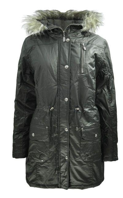 Plaszcz Damski Kurtka Woskowana Futerko Parka 42 5848308434 Oficjalne Archiwum Allegro Winter Jackets Jackets Fashion