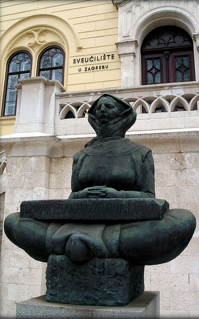 Mother Croatia Or History Of The Croats University Of Zagreb Croatia By Ivan Mestrovic Croatian Artist Zagreb Zagreb Croatia Dalmatia Croatia