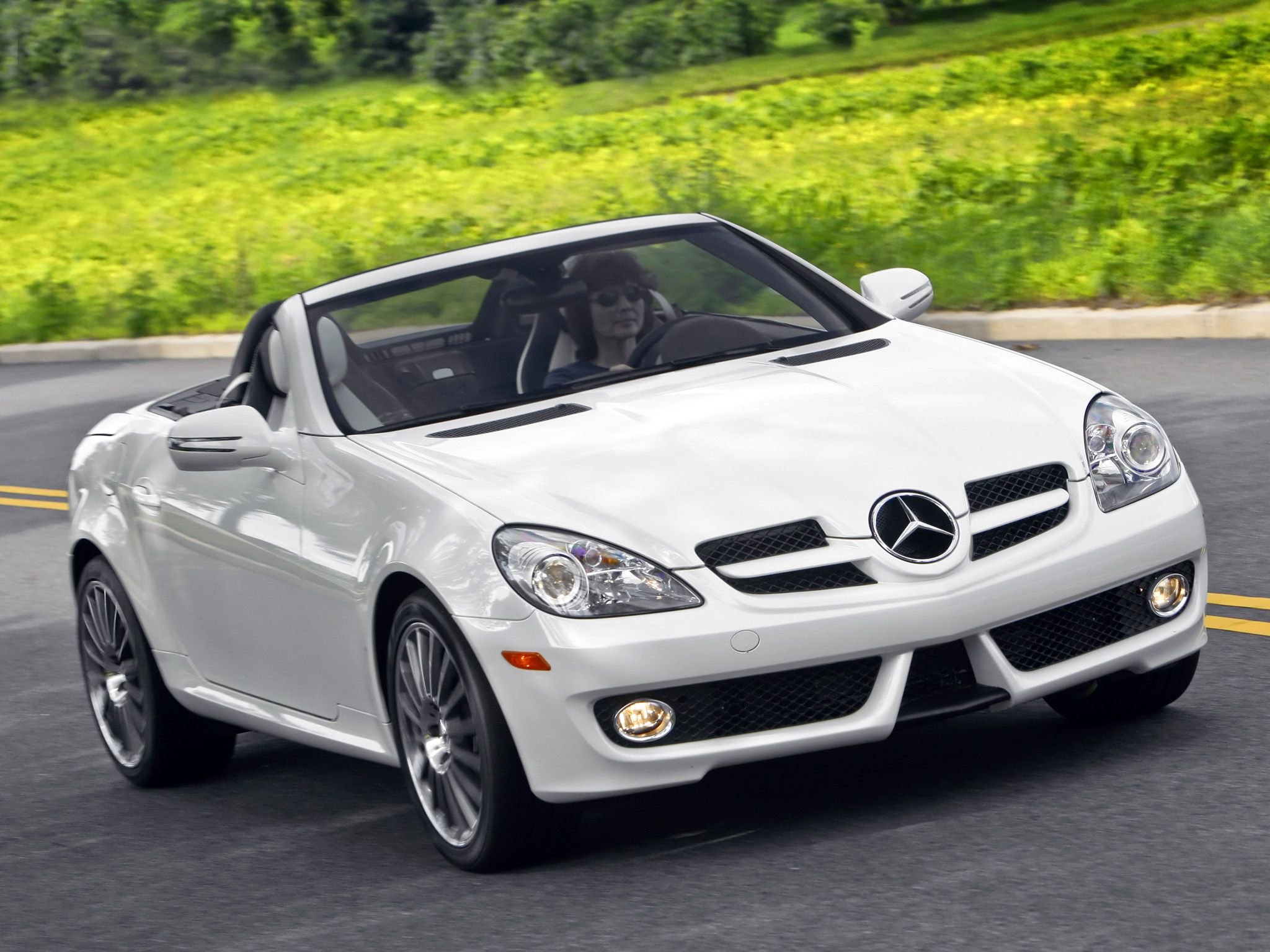 mercedes benz slk 300 diamond white edition us spec r171 39 2009 limited edition cars. Black Bedroom Furniture Sets. Home Design Ideas