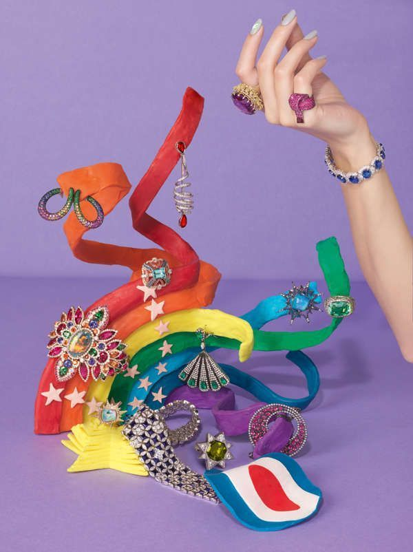 Photo of Plasticine Jewelry Editorials – The Vogue UK December 2012 Set was designed by … – P …