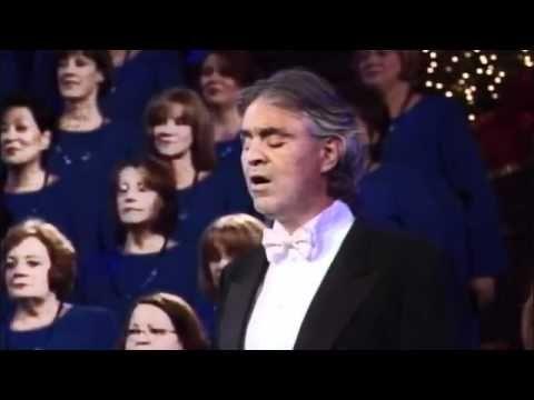 Andrea Bocelli Con El Tabernaculo Mormon Musica Inspiradora