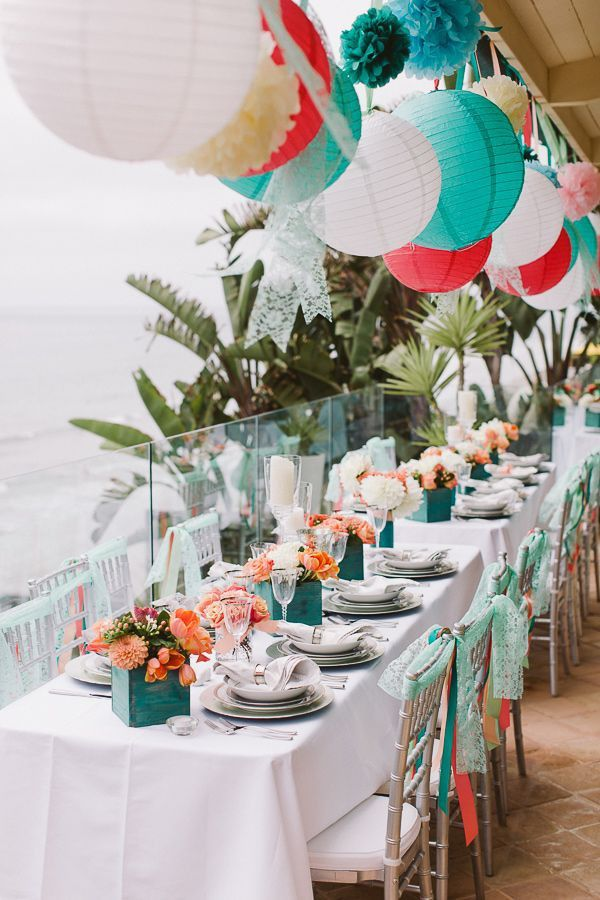 How To Organize A Beach Themed Bridal Shower With Images Beach