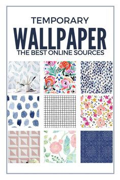 Where to buy temporary wallpaper (removable wallpaper) | Temporary ...
