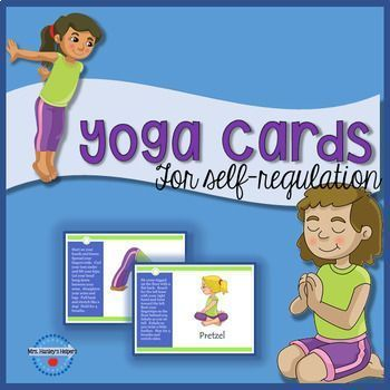 yoga cards for selfregulation  self regulation yoga for