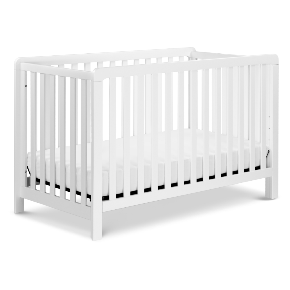 Carter S By Davinci Colby 4 In 1 Convertible Crib In White Walmart Com Cribs Convertible Crib Best Baby Cribs