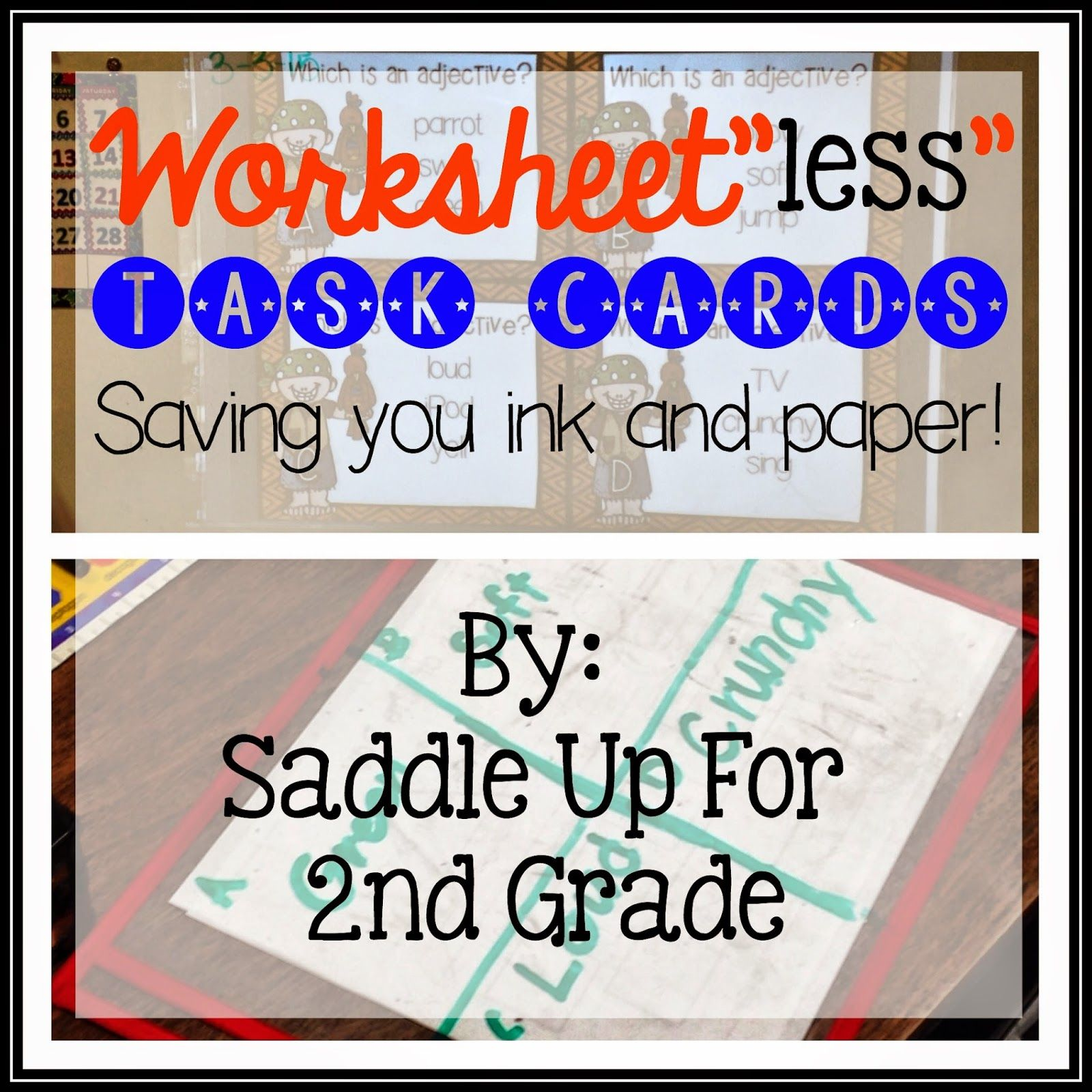 Bright Ideas Worksheet Less Task Cards Saving You Time