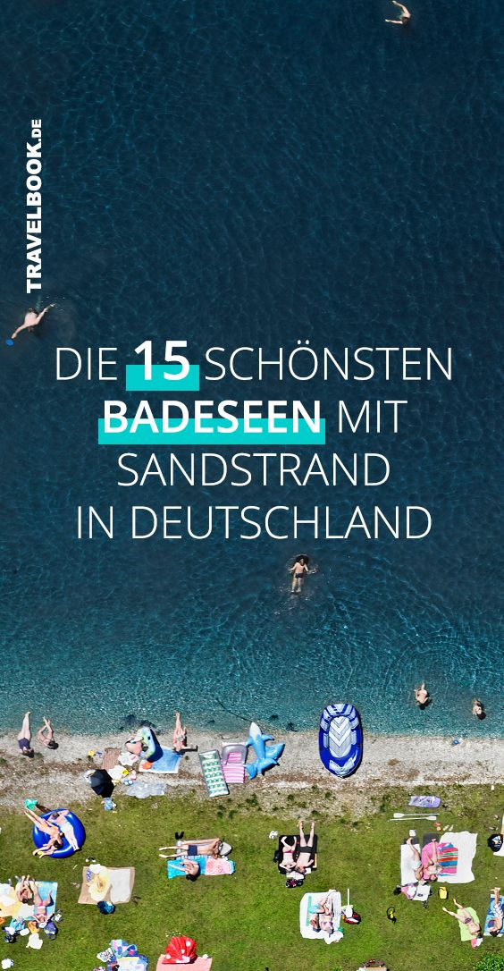 Photo of With a sandy beach! 15 German bathing lakes where you feel like you are by the sea