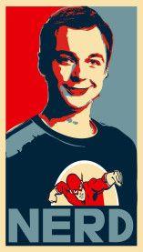 Sheldon Cooper es un nerd
