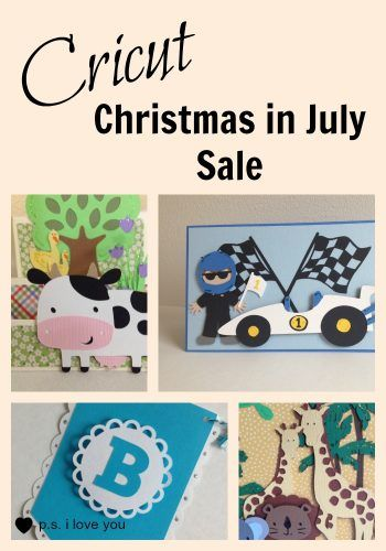 Cricut Christmas in July Sale - Cricut is having a whopper of a sale this month. Huge discounts on Cricut Explore machines, bundles, supplies, cartridges, and clearance.
