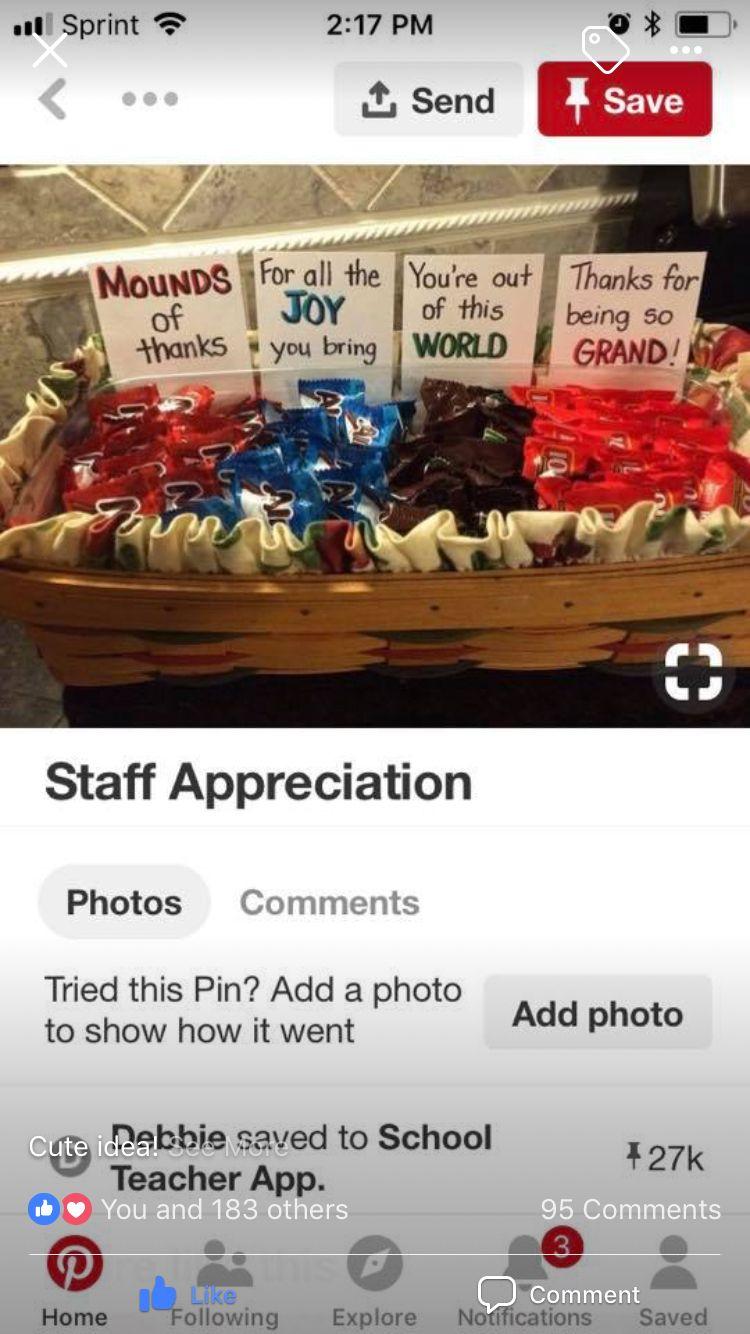 Employee appreciation #employeeappreciationideas