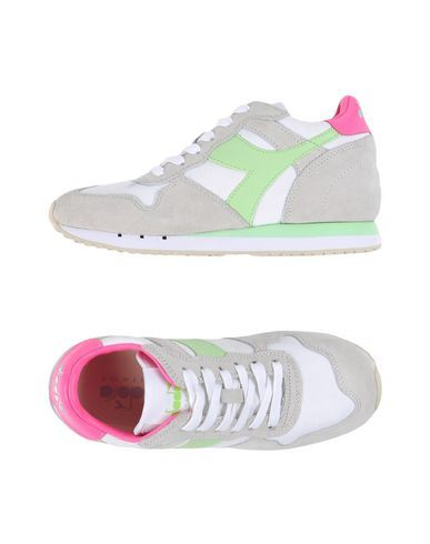 db06f34b4 DIADORA HERITAGE Women s Low-tops   sneakers Light green 7.5 US