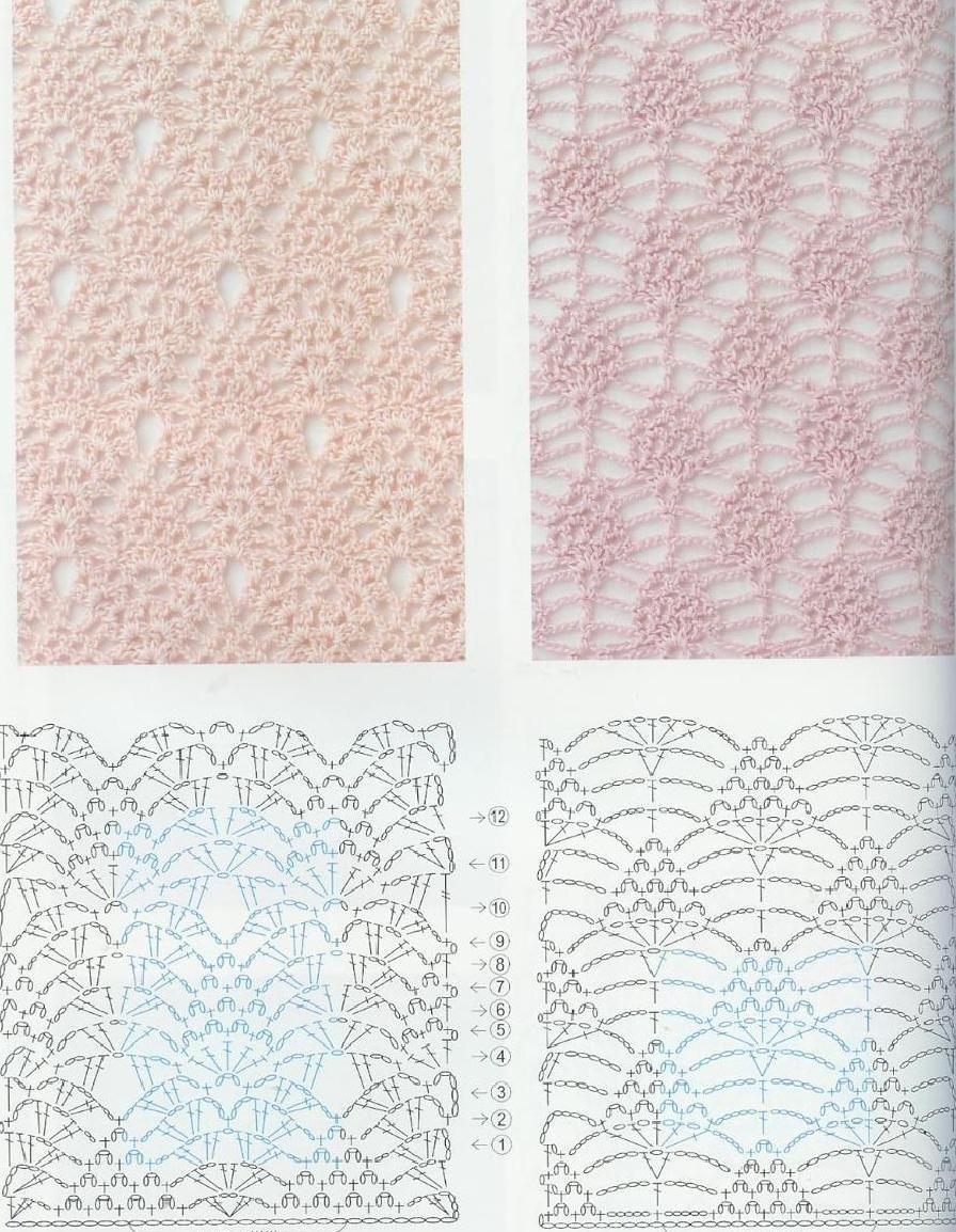 Crochet patterns book 300   Puntos de crochet   Pinterest   Crochet ...
