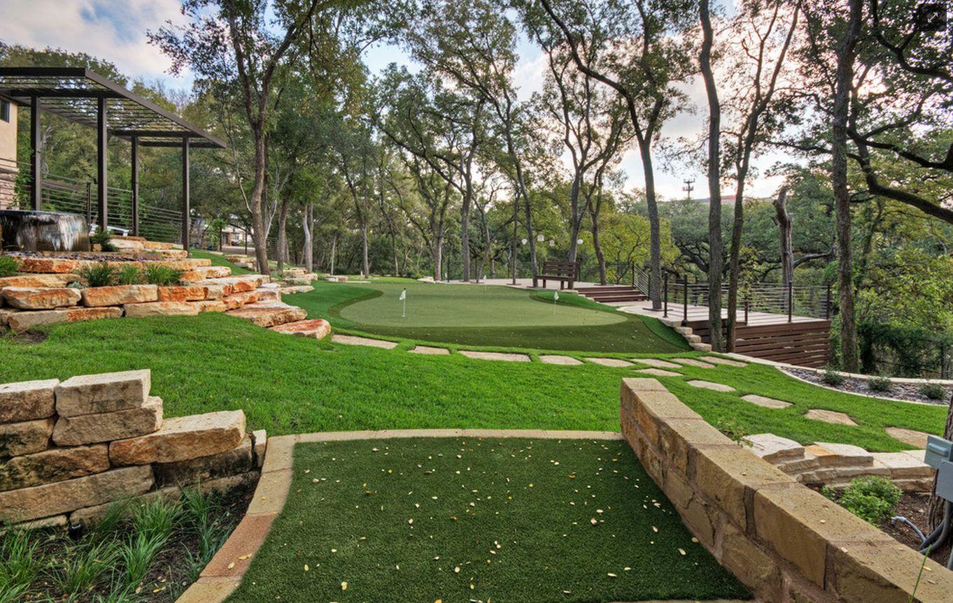 Golf course resorts golf courses green backyard