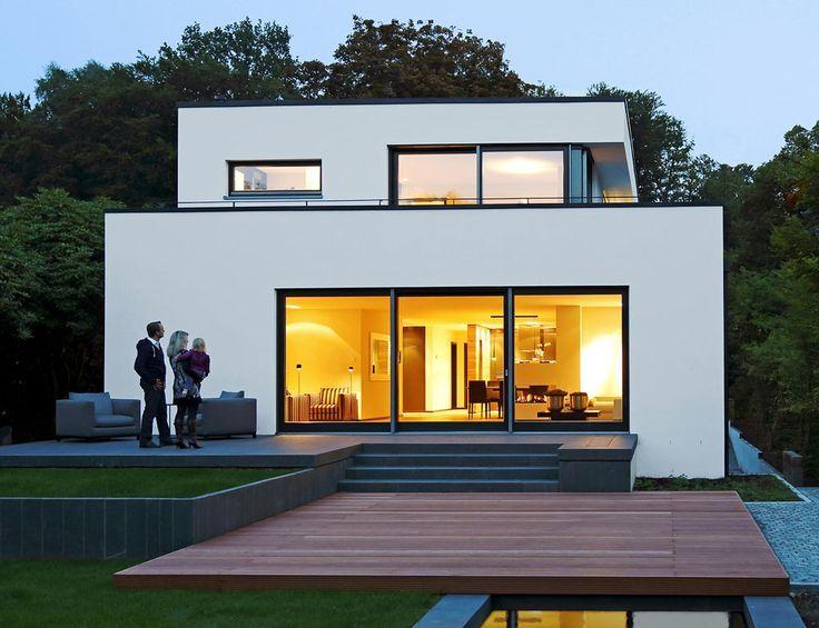 Wie die Terrasse zum Wohnzimmer wird | Architecture, House and Bauhaus