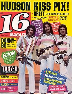 Hudson Brothers Razzle Dazzle Show My Generation Magazine Covers Fan Tiger Beat