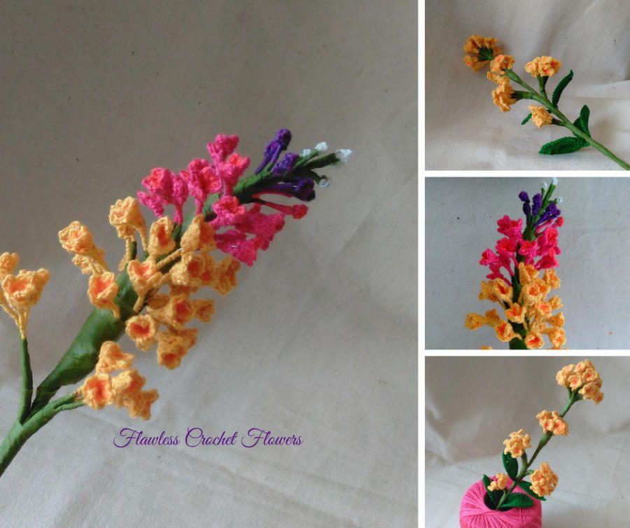 Summer Lilacs by Flawless Crochet Flowers