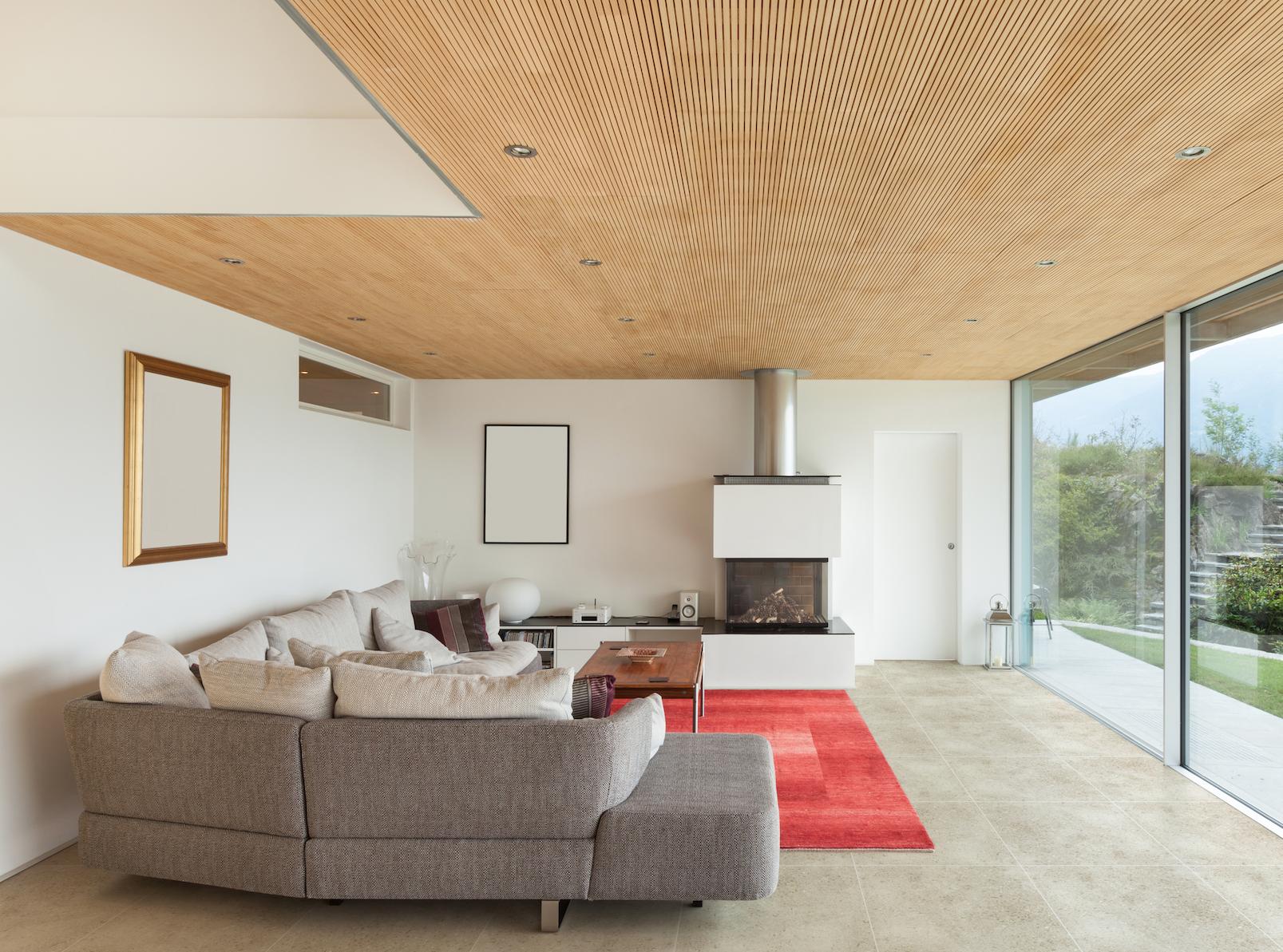 Dise o de interiores casas modernas piso para interiores cer mico esmaltado color gris - Disenos de pisos para interiores ...