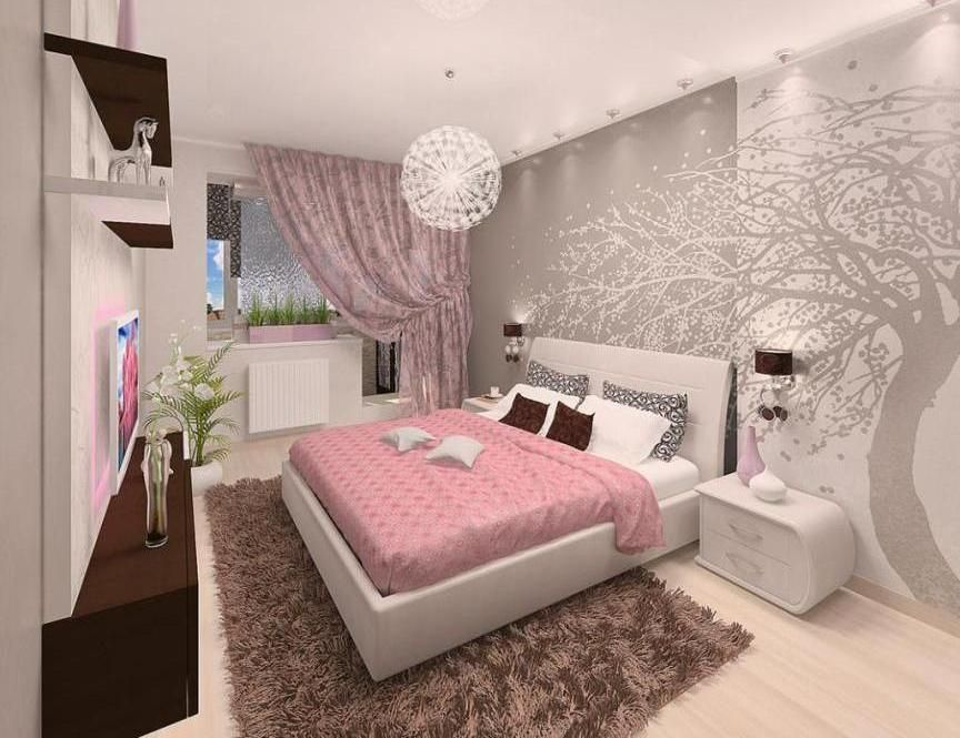 Last Pink Romantic Bedroom Design Ideas Purple