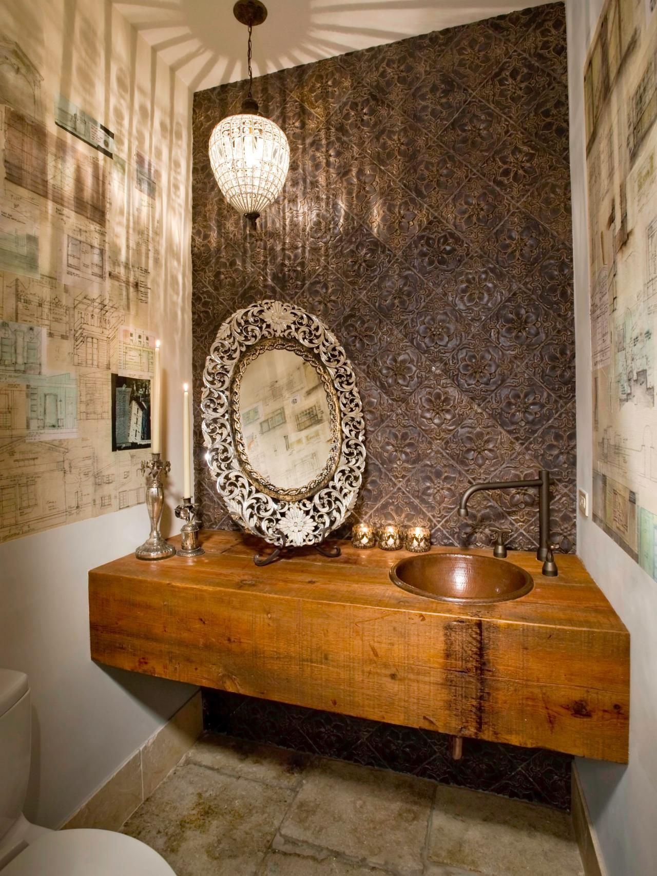 Romantic Bathroom Lighting Ideas | !Decor I Like | Pinterest | Space ...