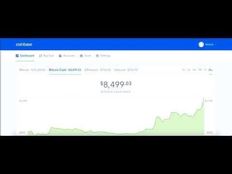 Coinbase will trade bitcoin cash