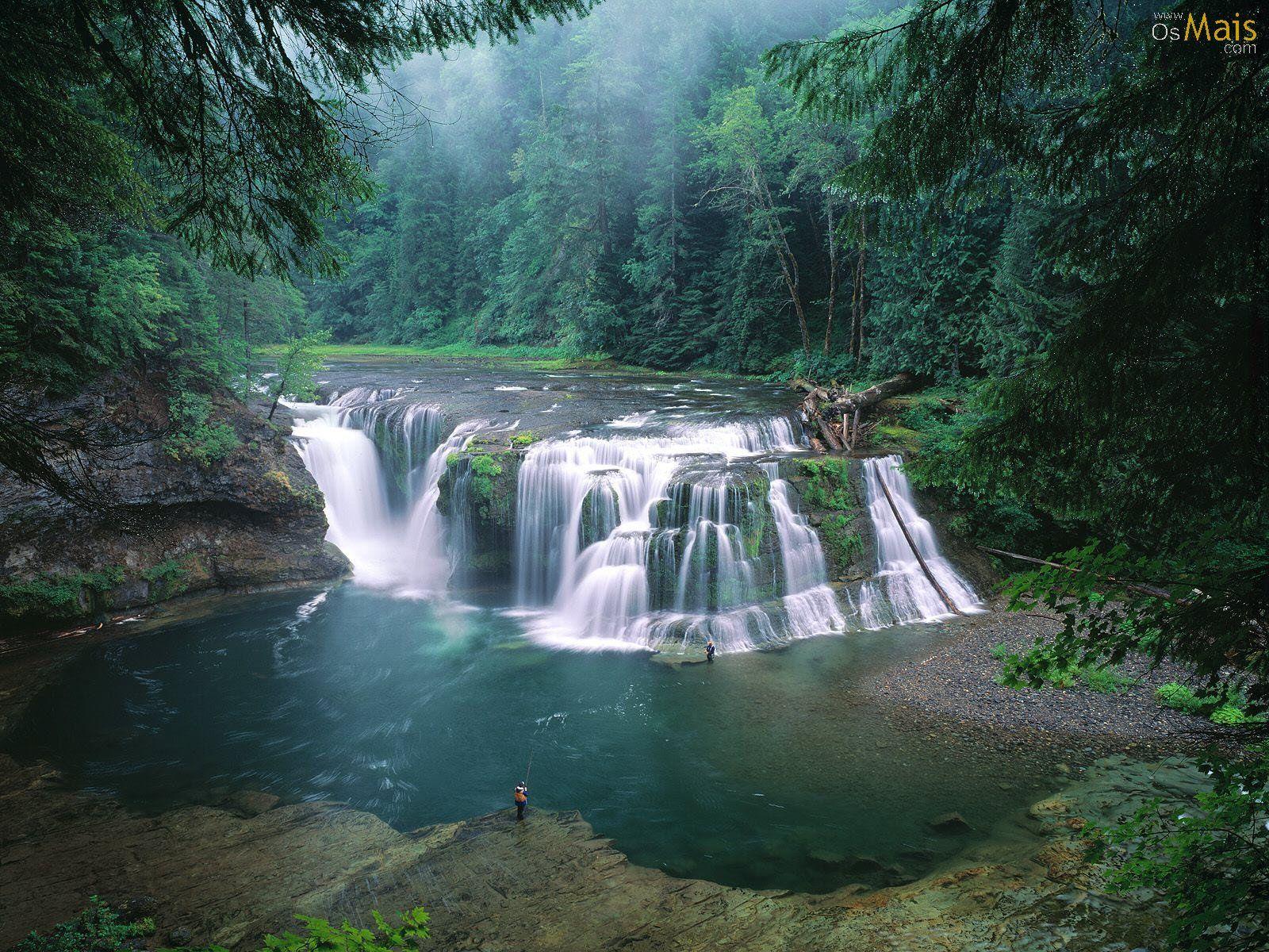 cachoeira, rio