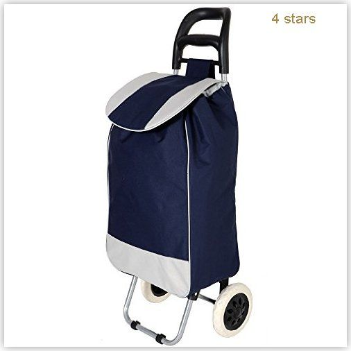 Parasnath Foldable Shopping Trolley Bag Sports 0 100 0 100