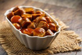 So machen Sie original Berliner Currywurst #octoberfestfood