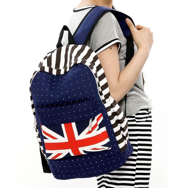 cute-book-bags-uk-flag-cute-backpack-for-kids-children-zipper ...