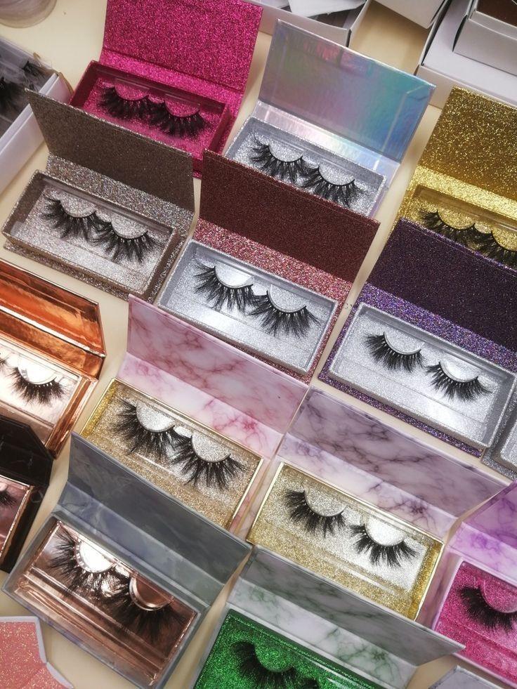 wholesale box WhatsApp8615908982112 in 2020 Eye lash