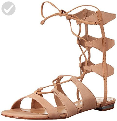 Schutz Women's Erlina Gladiator Sandal, Lightwood, 9.5 M US - All about  women (