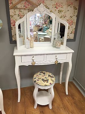Shabby Chic White Bedroom Furniture Bedside Tables Dressing Tables Wardrobes Ebay Shabby Chic Bedroom Furniture White Shabby Chic Shabby Chic Dresser