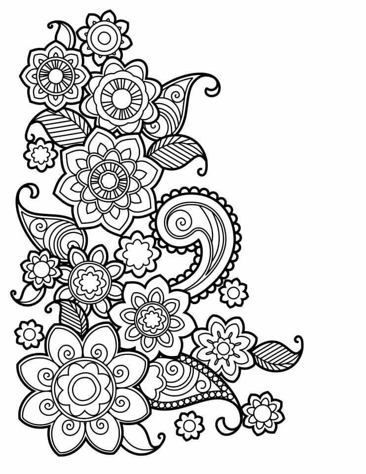 Cute Coloring Pages Pattern Printable Sheets Adult