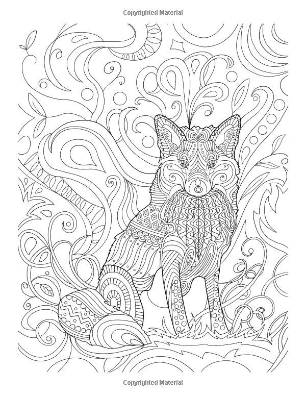 Amazon.com: Wolves Coloring Book for Grown-Ups 1 (Volume 1 ...