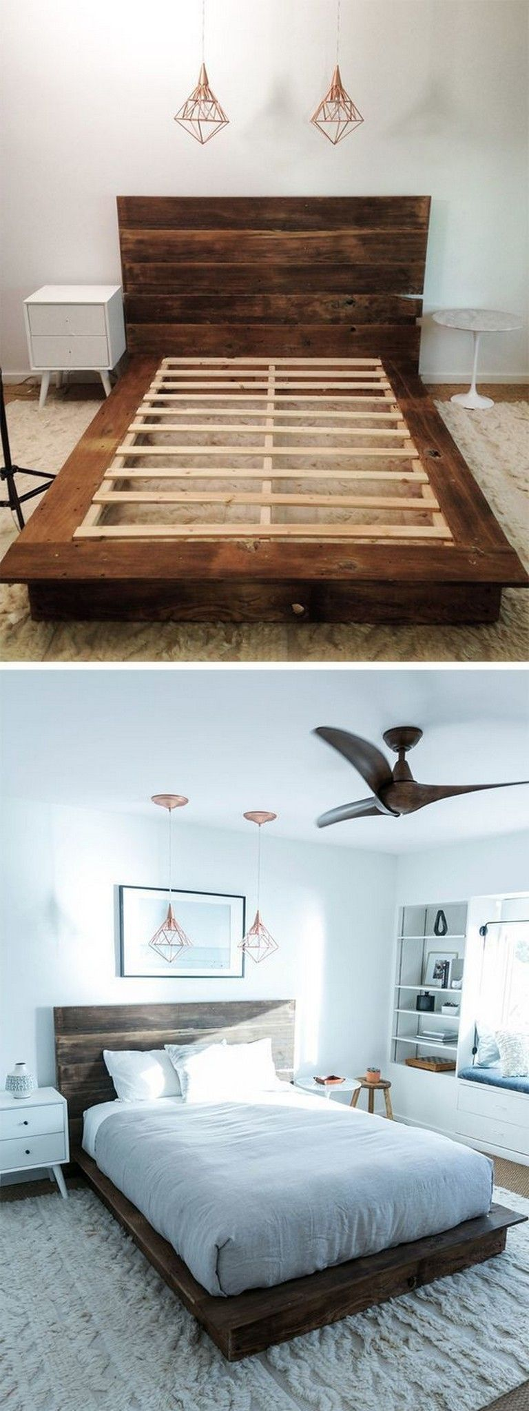 5+ Amazing Multi Purpose DIY Platform Beds That Anyone Can