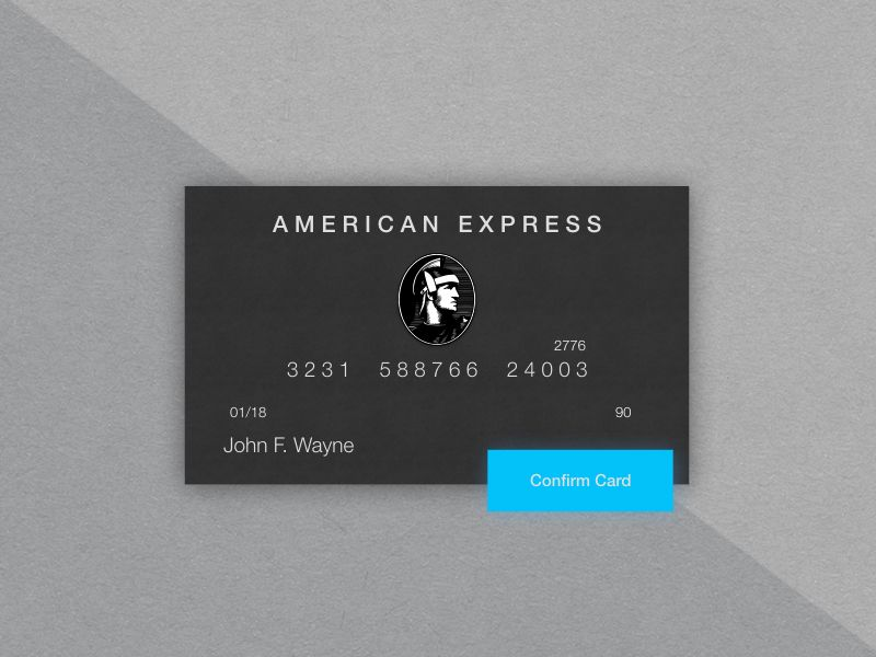 Credit Card UI by RaFael