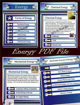 Energy Science Education PDF File - 65 Pages - Types of