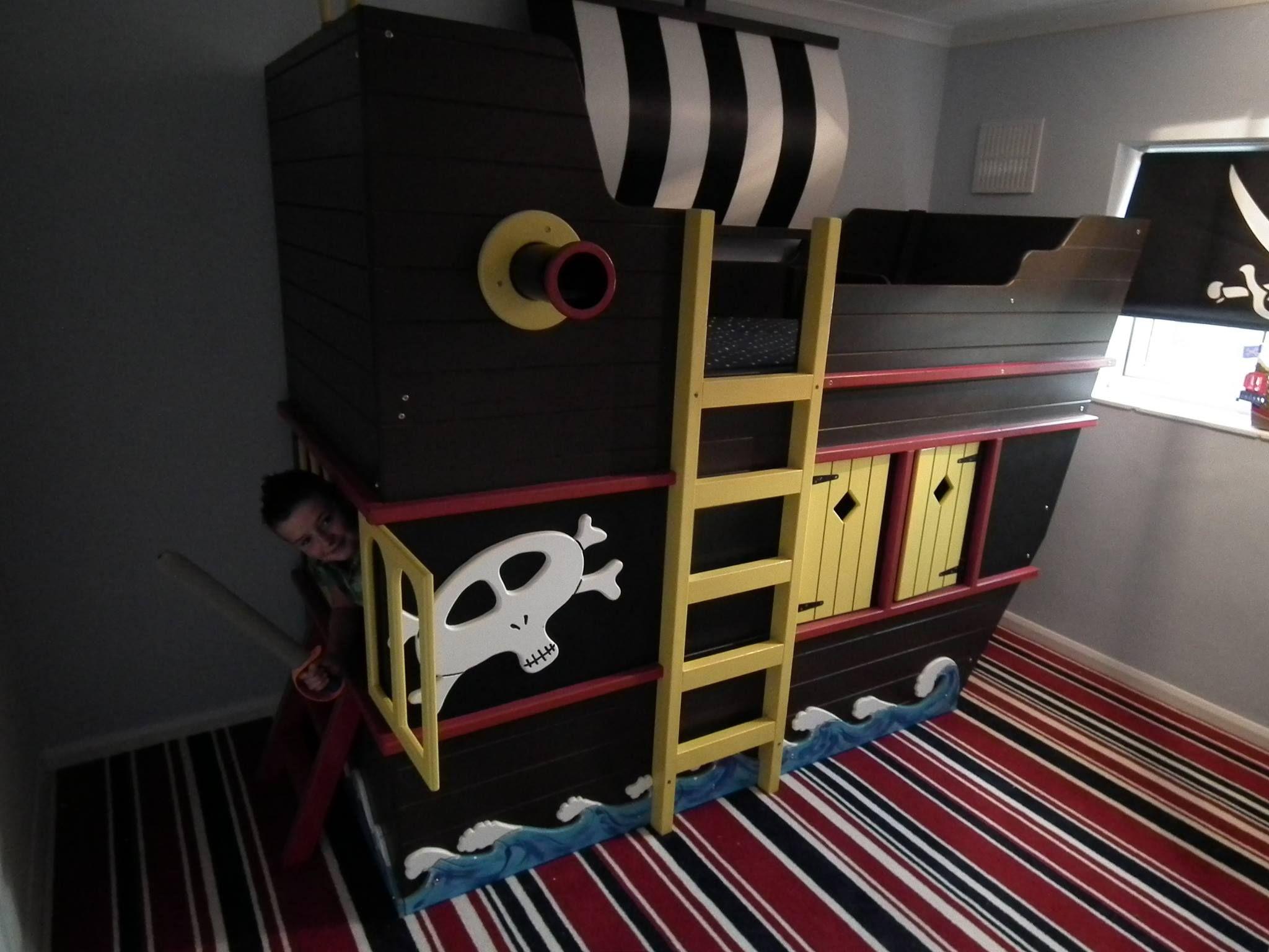 Pirate Ship Bed By Dreamcraft Furniture Www Facebook Com