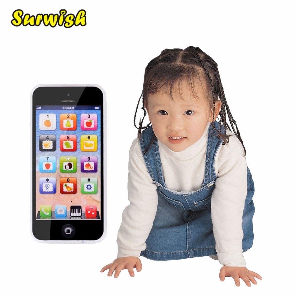 Children Kids Boys Girls Toy Educational Learning Mobile Phone Development Toys
