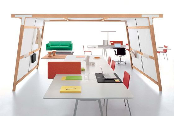 The In Betweeners: The Rise Of A New Office Furniture Typology
