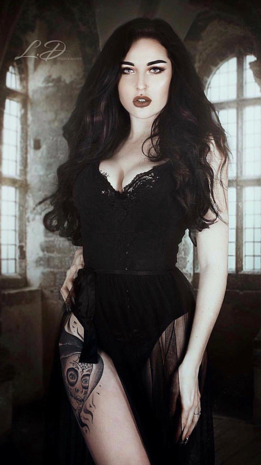 Bellezas Gotico Hot Goth Girls Gothic Girls Goth Beauty [ 1920 x 1080 Pixel ]