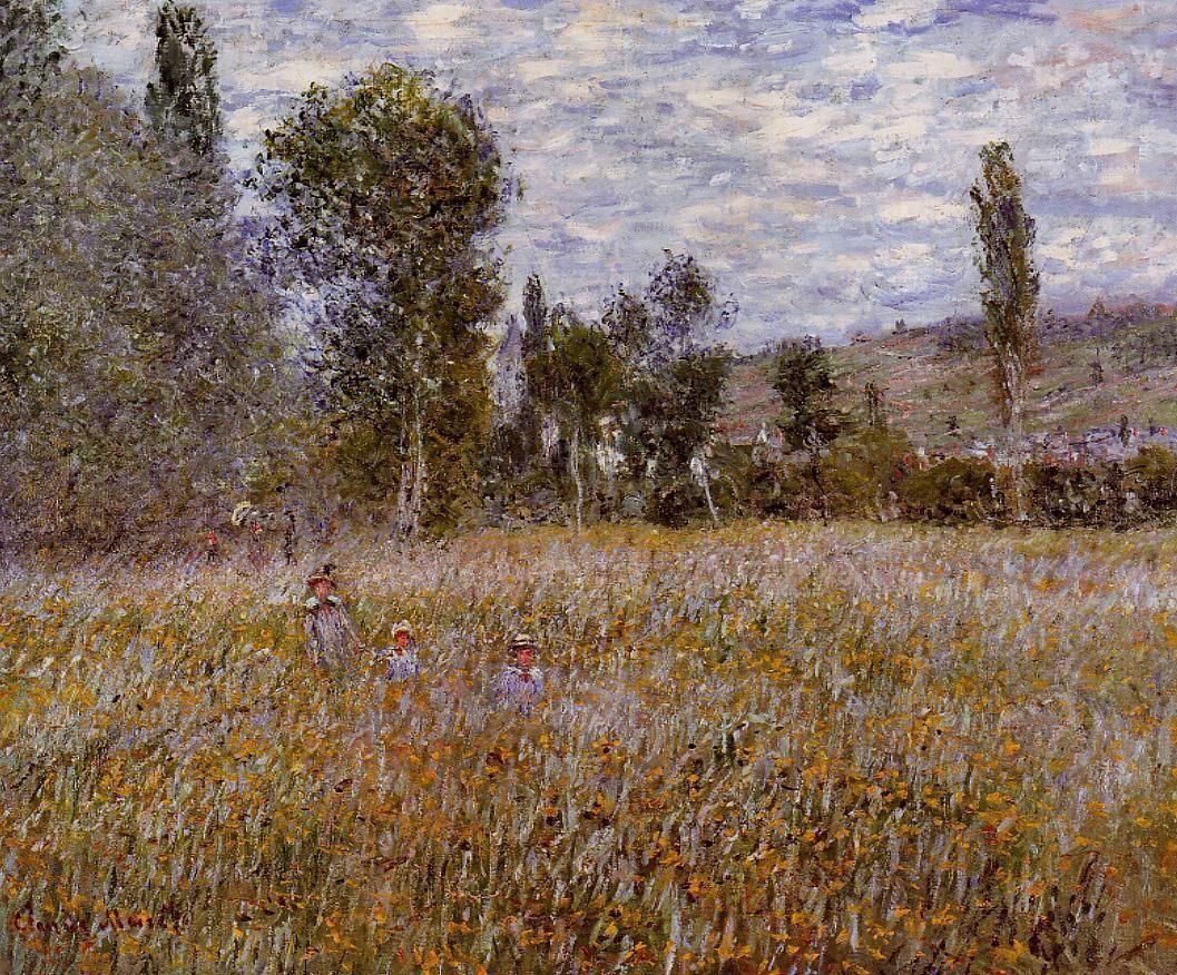 $395, A Meadow,  Artist: Monet
