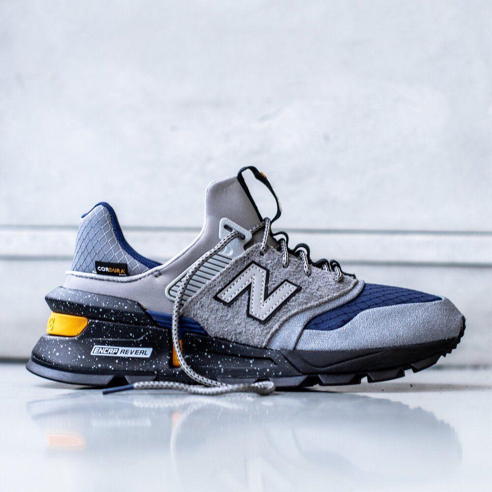 New Balance 997 Sport Cordura Grey Navy Sale Price 79