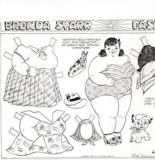 Abertha from Brenda Starr,  5-17-1942 #2
