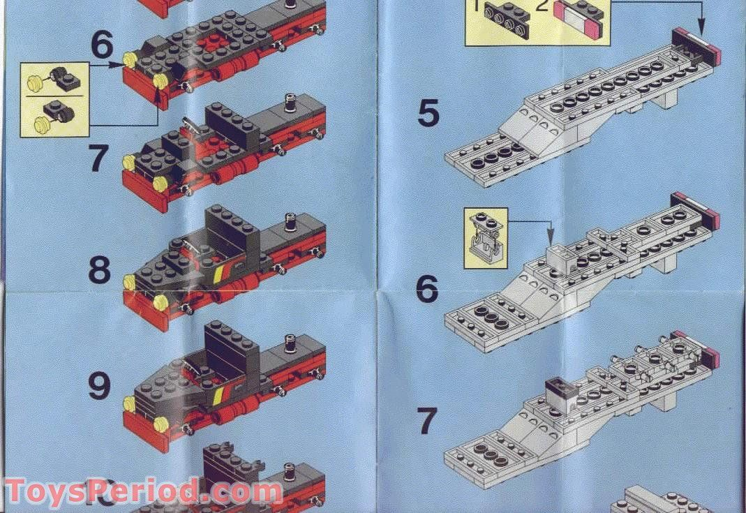 Lego 6357 Stunt Copter N Truck Set Parts Inventory And